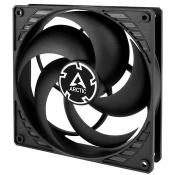 Case/CPU FAN Arctic P14 Silent, Pressure-optimised Extra Quiet Fan, Black/Black, 140x140x27 mm, 3-pin, 950rpm, Noise 0.08 Sone (@ 950 RPM), 29.8 CFM (50.6 m3/h)