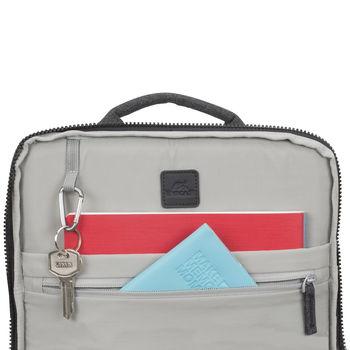 "15.6"" Рюкзак для ноутбука RivaCase 8861, Black melange"