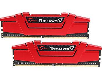 16GB DDR4 Dual-Channel Kit G.SKILL Ripjaws V F4-3600C19D-16GVRB 16GB (2x8GB) DDR4 PC4-28800 3600MHz CL19, Retail (memorie/память)