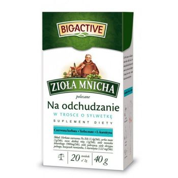 купить Чай Monastic Herbs for Weight Control, 20 шт в Кишинёве