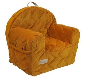 купить Кресло детское Klups Velvet kids Honey в Кишинёве