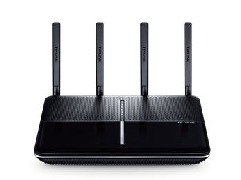 TP-LINK Archer C3150   AC3150 Dual Band Wireless Gigabit Router, MU-MIMO, 2167Mbps at 5Ghz + 1000Mbps at 2.4Ghz, 802.11ac/a/b/g/n, 1 Gigabit WAN + 4 Gigabit LAN, 1xUSB 3.0 + 1xUSB 2.0, 4 detachable antennas