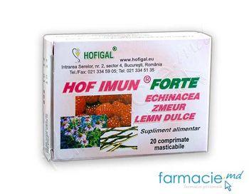 купить Hof Imun Forte comp.masticab. N20  (Hofigal) в Кишинёве