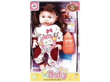 Кукла со звуком и аксессуарами (сердце), 32X18,5X11cm