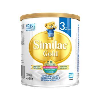 купить Молочная смесь Similac Gold 3 с 12 месяцев, 400г в Кишинёве