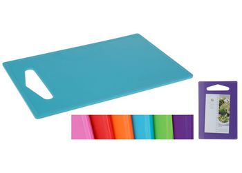 Доска разделочная пластиковая EH 36X24сm, разных цветов