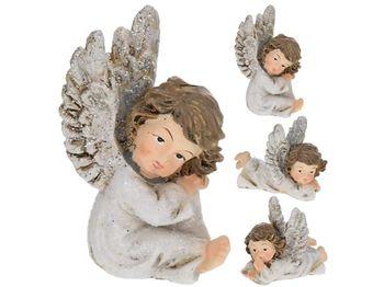 """Статуэтка """"Ангел-мальчик"""" сидящий / лежащий 7.5X6сm"""