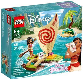 LEGO Disney Морские приключения Моаны, арт. 43170