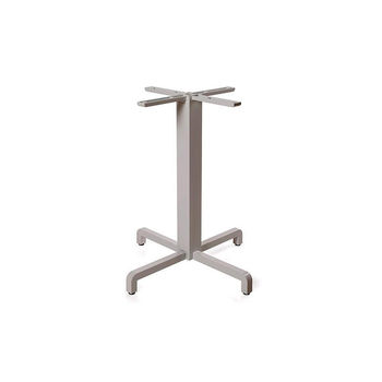 Picior (baza) de masa aluminiu Nardi BASE FIORE vern. tortora 53059.00.000