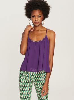 Блуза RESERVED Фиолетовый tj064-45x