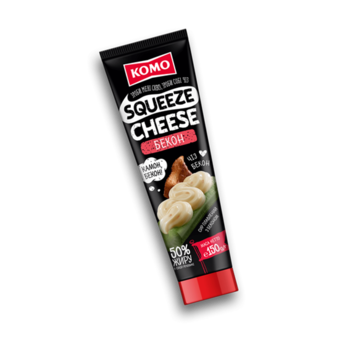 KOMO™ brinza topita BECON 150 gr. (tub)