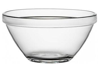 Салатница стеклянная Pompei 100ml, D8cm