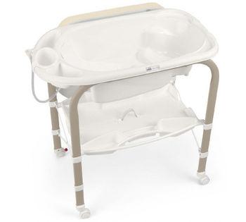 купить Пеленальный столик с ванной CAM CAMBIO Мишка беж в Кишинёве