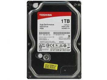 """купить 3.5"""" HDD 1.0TB  Toshiba HDWD110UZSVA  P300,  Desktop™, 7200rpm, 64MB, SATAIII в Кишинёве"""