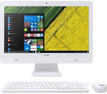 "купить All-in-One PC - 19.5""  ACER Aspire C20-720 HD+  Win10 (DQ.B6XME.002)  Intel® Celeron® J3060 up to 2.48 GHz, 4Gb DDR3 RAM, 500Gb HDD, DVDRW, Card Reader, Intel® HD 400 Integrated Graphics, Wi-Fi/BT, Gigabit LAN, 45W PSU, Win 10 Ru, KB/MS, White в Кишинёве"
