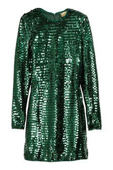Платье H&M Зеленый