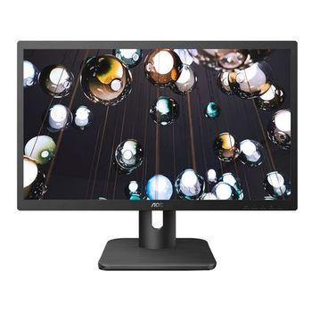 "22.0"" AOC LED 22E1D Matte Black (2ms, 20M:1, 250cd, 1920x1080, VGA, DVI, HDMI, Audio Line-out, Speakers 2 x 2W, VESA)"
