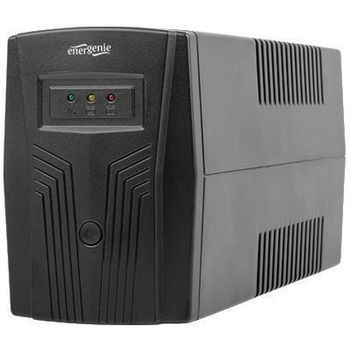 "Gembird Power Cube EG-UPS-B650 VA ""Basic 650"" 650VA  / 390W UPS with AVR, Sockets: 2 x Schuko output,  advanced"