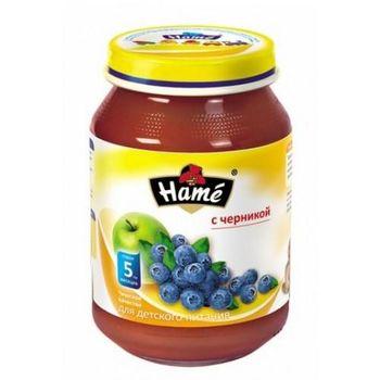 cumpără Hame piure din afine și mere 5+ luni, 190 g în Chișinău