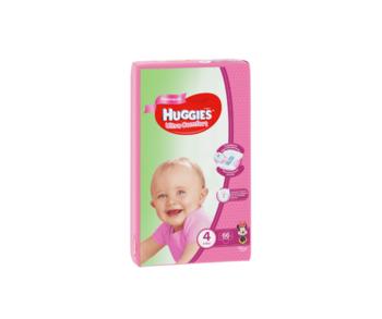 купить Подгузники для девочек Huggies Ultra Comfort Giga 4 (8-14 кг), 80 шт. в Кишинёве