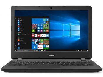 """ACER Aspire ES1-332 Black (NX.GFZEU.006) 13.3"""" HD (Intel® Celeron® Dual Core N3350 up to 2.40GHz (Apollo Lake), 4Gb DDR3 RAM, 500Gb HDD, Intel® HD Graphics, w/o DVD, CardReader, WiFi-AC/BT, 3cell, 0.3MP CrystalEye Webcam, RUS, Linux, 1.5kg)"""