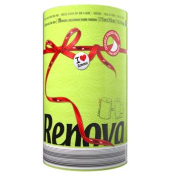 купить RENOVA Бумажные полотенца Green (1) 8020886 в Кишинёве