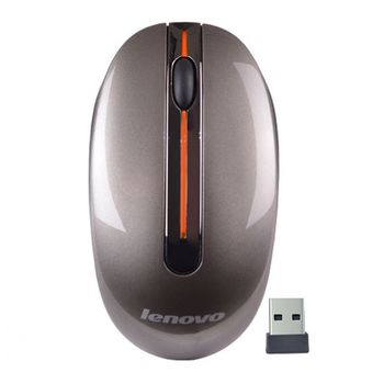 Lenovo Wireless Mouse N3903A, Ergonomic design, good touch feeling and quick response, Metal