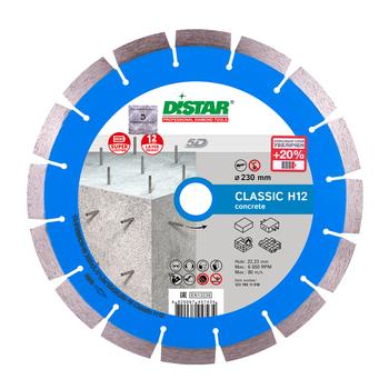 купить Диск алмазный отрезной Distar 1A1RSS/C3-W 232x2,4/1,6x12x22,23-16-ARP 38x2,4x10+2 R105 Classic H12 в Кишинёве