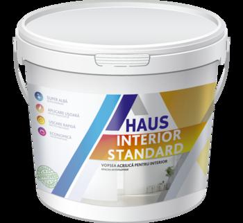 Краска водоэмульсионная интерьерная Haus Standard 12 кг
