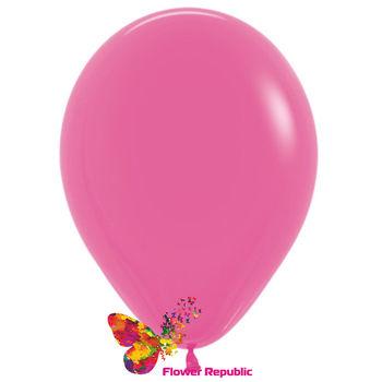 купить Латексный воздушный шар Фуксия-30 см в Кишинёве