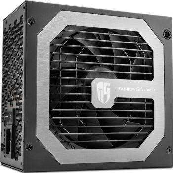 "PSU DEEPCOOL ""DQ850-M"", 850W, ATX 2.31, 80 PLUS® Gold, Active PFC, Full Modular Cable System,120mm FDB Bearing fan with PWM, Double Layer EMI Filter, +12V (80A), 20+4 Pin, 2xEPS(4+4Pin), 10x SATA, 4xPCI-E(6+2pin), 6x Peripheral, MTBF120000H, Black"