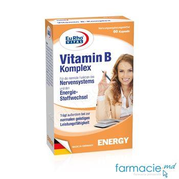 купить Vitamina B Complex caps. N60 EuRho Vital в Кишинёве
