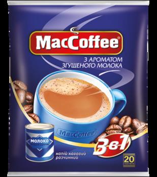 MacCoffee 3в1 Сгущенное молоко (20пак в упаковке)