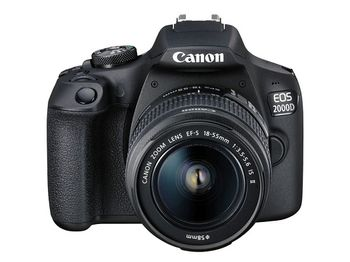DC Canon EOS 2000D Bk & EF-S 18-55 IS III