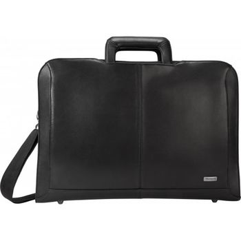 "Targus Executive 15.6"" Topload Notebook carrying case, Polyurethane, Black, Shoulder carrying strap, trolley strap, top carry handle."