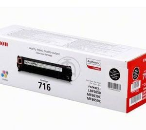 Cartridge Canon 716, (HP CB540A), black (2300 pages) for LBP-5050/5050N, MF8030Cn/8050Cn/8080Cw