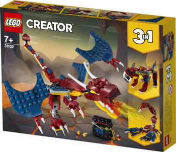 LEGO Creator Dragon de foc, art. 31102