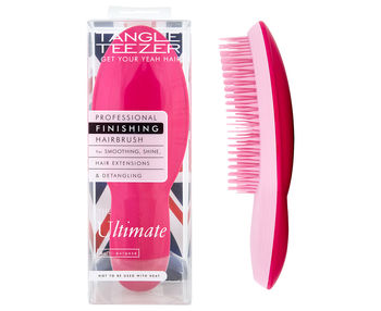 THE ULTIMATE finishing hairbrush pink 1 pz