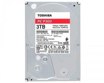 """купить 3.5"""" HDD 3.0TB  Toshiba HDWD130UZSVA  P300,  Desktop™, 7200rpm, 64MB, SATAIII в Кишинёве"""