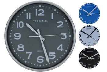 купить Часы настенные круглые D25cm, разных цветов в Кишинёве