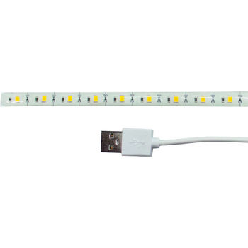 Gembird  LED-SU-WW30-01, USB LED strip, 30 cm