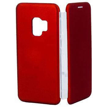 купить Чехол Senno Flip Cover Rubber Samsung S9 Plus , Red в Кишинёве
