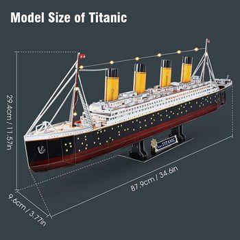 купить CubicFun пазл 3D Titanic в Кишинёве