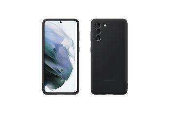 купить Чехол для моб.устройства Samsung EF-PG991, Galaxy S21, Silicone, Black в Кишинёве