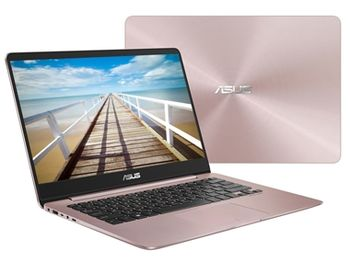 "cumpără ""NB ASUS 14.0"""" Zenbook UX430UA Rose (Core i5-8250U 8Gb 256Gb Win 10) 14.0"""" Full HD (1920x1080) Non-glare, Intel Core i5-8250U (4x Core, 1.6GHz - 3.4GHz, 6Mb), 8Gb (OnBoard) PC3-14900, 256Gb M.2, Intel HD Graphics, micro HDMI, 802.11ac, Bluetooth, 1x USB 3.1 Type C, 1x USB 3.0, 1x USB 2.0, Card Reader, HD Webcam, Windows 10 Home RU, 3-cell 50 WHrs Polymer Battery, Illuminated Keyboard, 1.3kg, Rose Gold"" în Chișinău"
