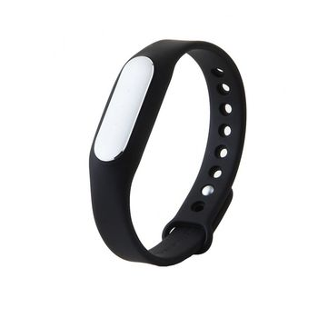 "Xiaomi ""MiBand"" Black (XMSH03HM), Fitness Level, Steps, Calories, Sleeping Quality Tracking, Smart Alarm, Total Distance Display, Average Daily Steps, Control of incoming calls, LED Light Color, Standby time 30days, WaterProof IP67, 5.5g"