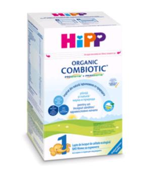 купить Hipp 1 Сombiotic organic молочная смесь, 0+мес.800 г в Кишинёве