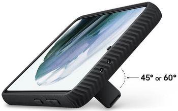 купить Чехол для моб.устройства Samsung EF-RG991 , Galaxy S21 Protective Standing Cover Black в Кишинёве