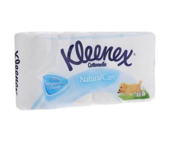 купить Туалетная бумага Kleenex Natural White, 8 рулонов, трехслойная в Кишинёве