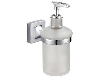 Диспенсер для жидкого мыла настенный Lucca, хром